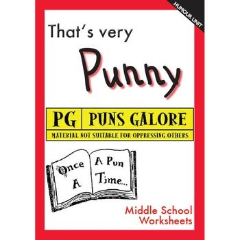 More humour to use in your English class.Puns are painful, I know, but this unit is so much fun and a great test for understanding the use of language in different settings.Table of Contents:Definitions of PunsPosters that are PunsWord ListKnock Knock JokesI'm Confused!Knock Knock!