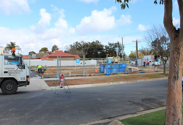 Site works and construction preparation commenced