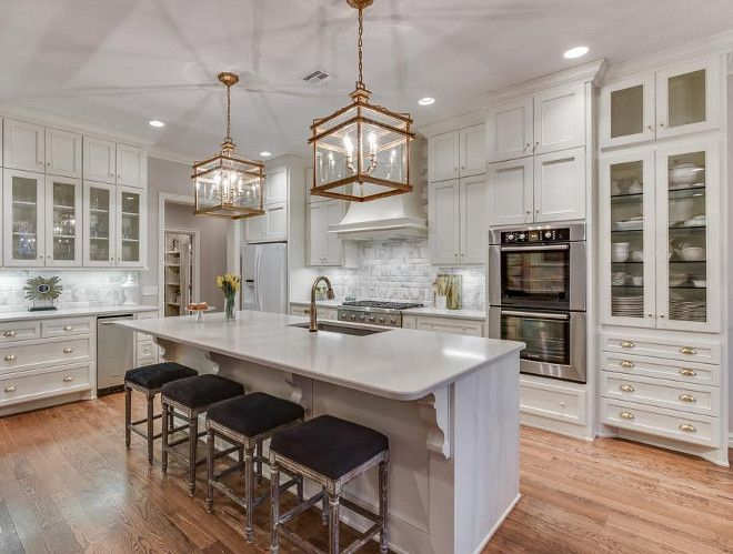 478 best Beautiful White Kitchens! images on Pinterest | Floors ...