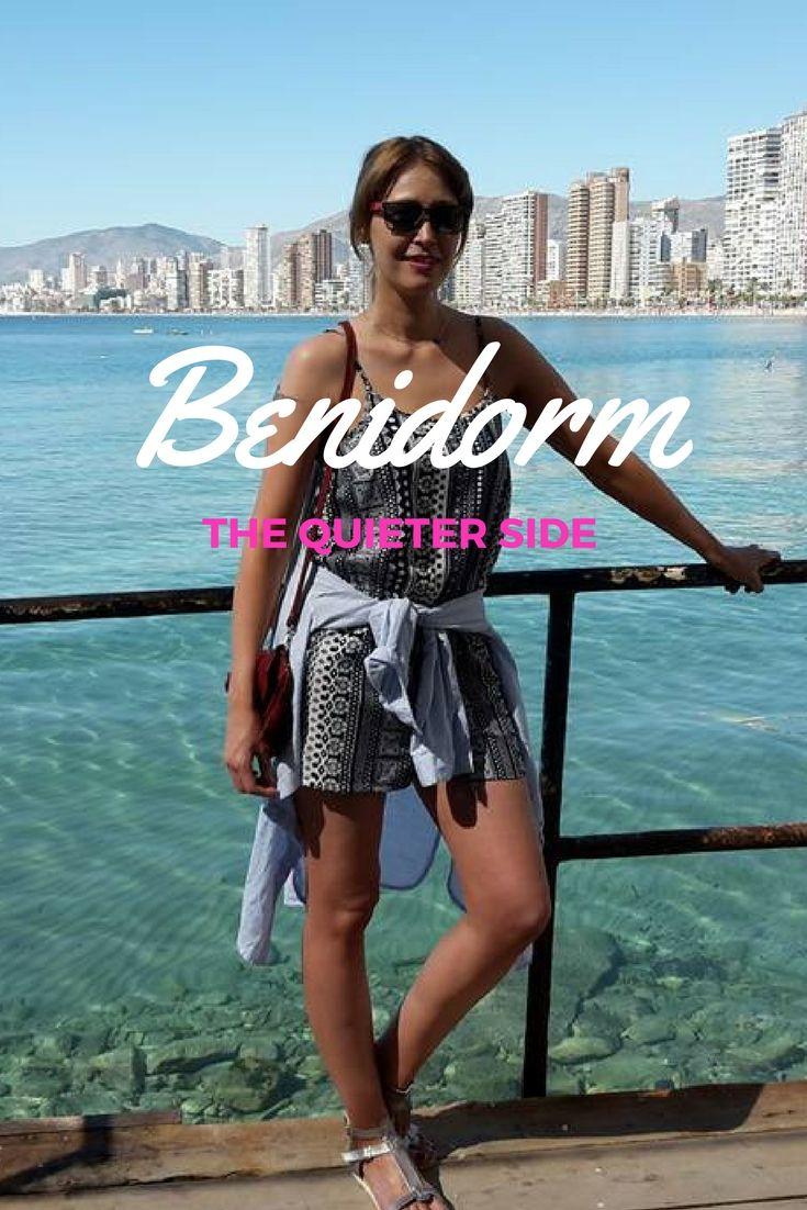 The QUIETER side to Benidorm! NEW blog post! #spain #benidorm #shortbreaks #weekendbreaks #easyjet #citybreaks #holiday