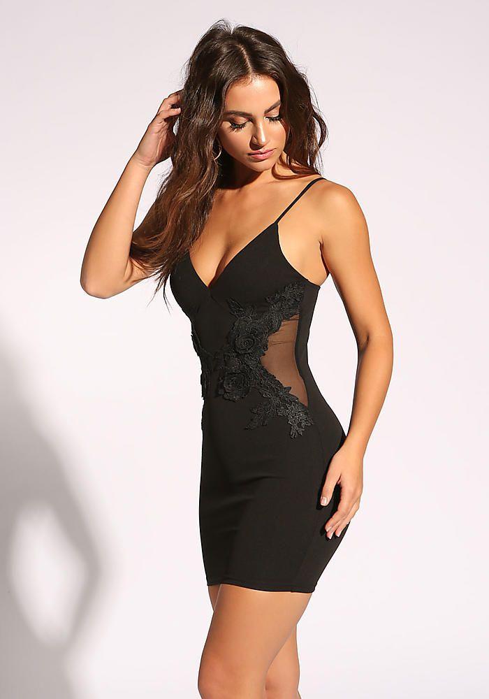 Black bodycon dress new look x ray sports savvy qvc