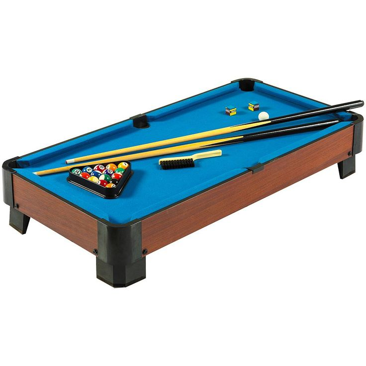 Hathaway Sharp Shooter 40-in. Tabletop Pool Table, Blue