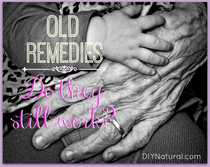 10 Remedies Your Grandma Used That You Can Too old healing remedies, like the ones Grandma used to make, still work today. Before heading to the pharmacy for meds, try employing these time-tested remedies.