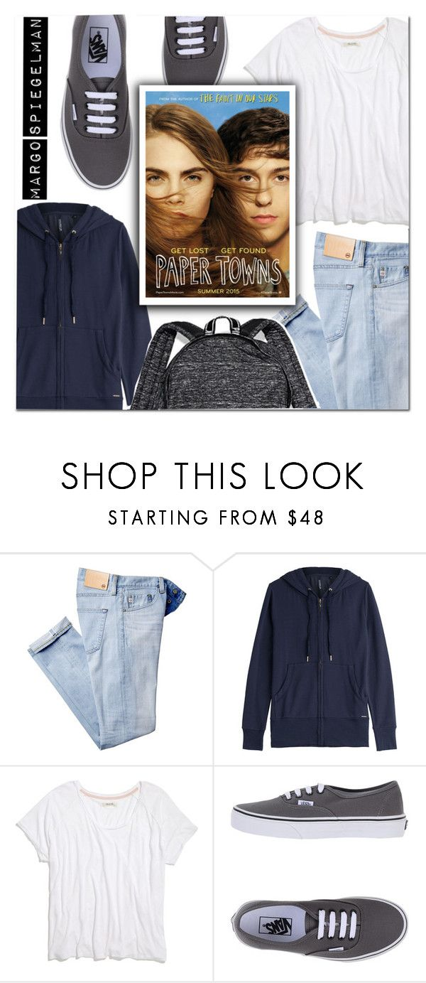 """MARGO SPIEGELMAN"" by makingastatement ❤ liked on Polyvore featuring Woolrich, Madewell, Vans and Victoria's Secret"