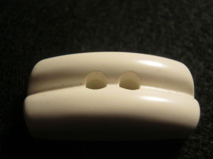 20 Stück Knebelknöpfe Weiß Länge 30mm Breite 15 mm Neu Lübecker Knopfmanufaktur von Knopfshop auf Etsy