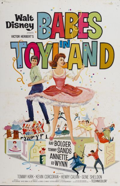 Babes in Toyland - Early 1960s Vintage Movie Poster