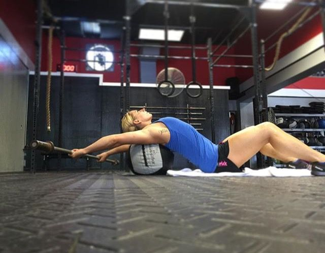 Crossfit Open up shoulders ROM assistance work
