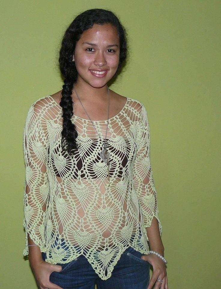 bonitas blusas tejidas a crochet 2mapa 2012 crochet