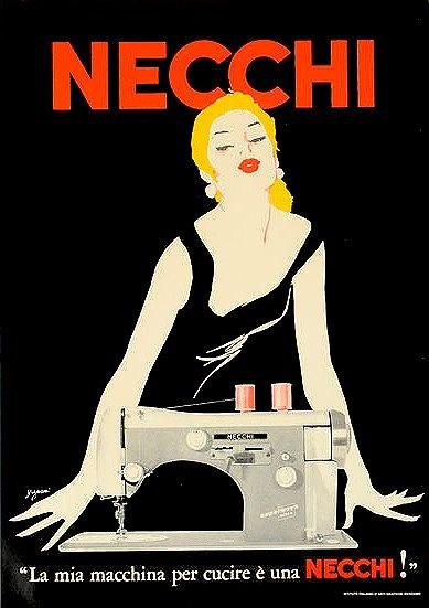 Sexy Necchi sewing machine