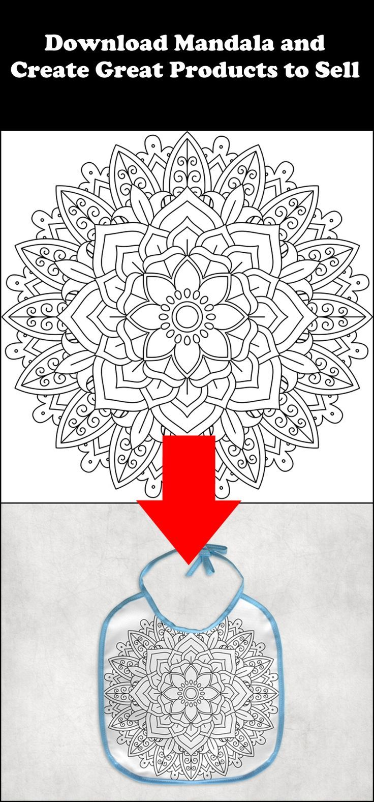 Create Your Own Product And Sell For Profit Create Product Profit Sell Mandala Art Mandala Coloring Pages Mandala