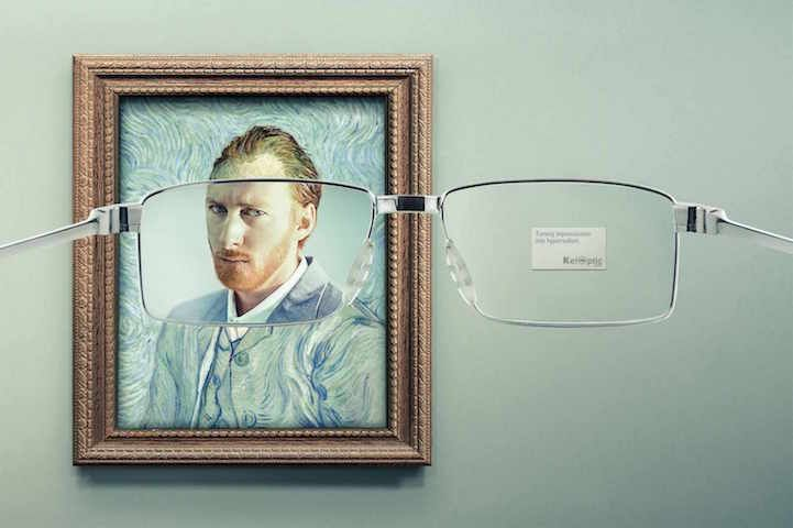Clever Ads Reveal an Unexpected Side to Famous Artworks - My Modern Met