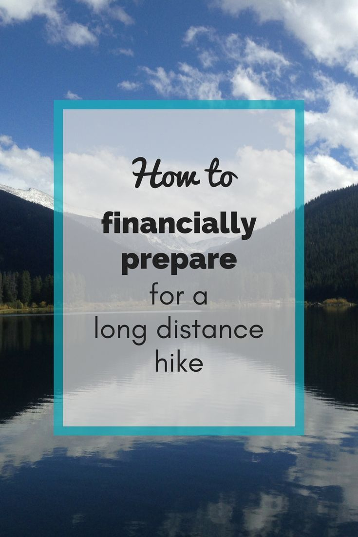 Consider these 7 things when planning the cost of hiking the Appalachian Trail. Read on for a plan to help you get financially prepared for your long hike.