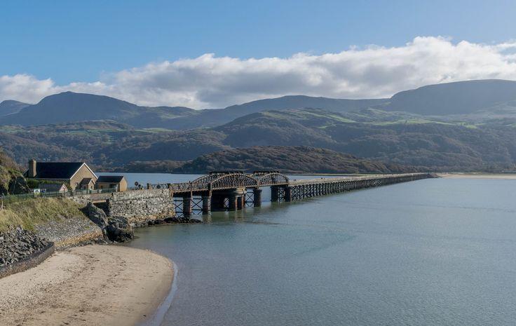 https://flic.kr/p/YLAoKy | The iconic 150 year old bridge at Barmouth this afternoon, Gwynedd, Wales, UK 27.10.17 (W10 121)  https://www.flickr.com/photos/133078440@N06/