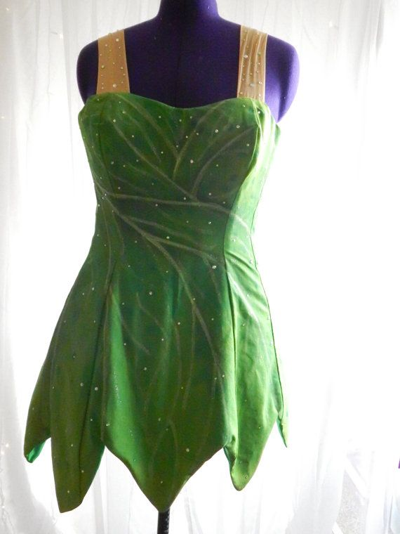 Adult Tinkerbell Costume Set by BelieveinMagicPP on Etsy                                                                                                                                                                                 More