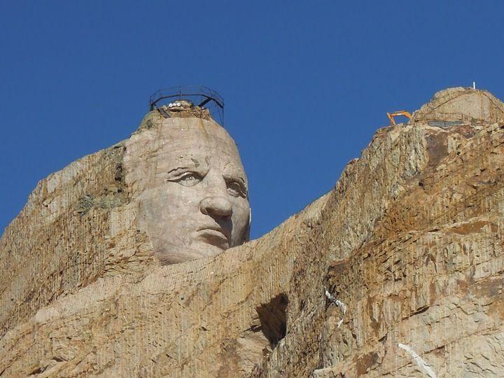 Crazy Horse Memorial in Crazy Horse, SD