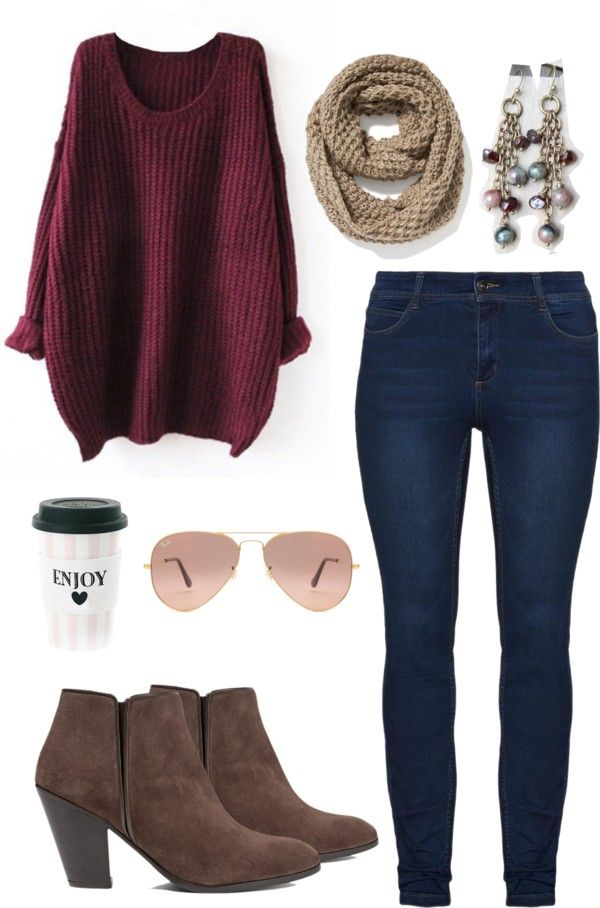 Burgundy Fall Outfit                                                                                                                                                                                 More