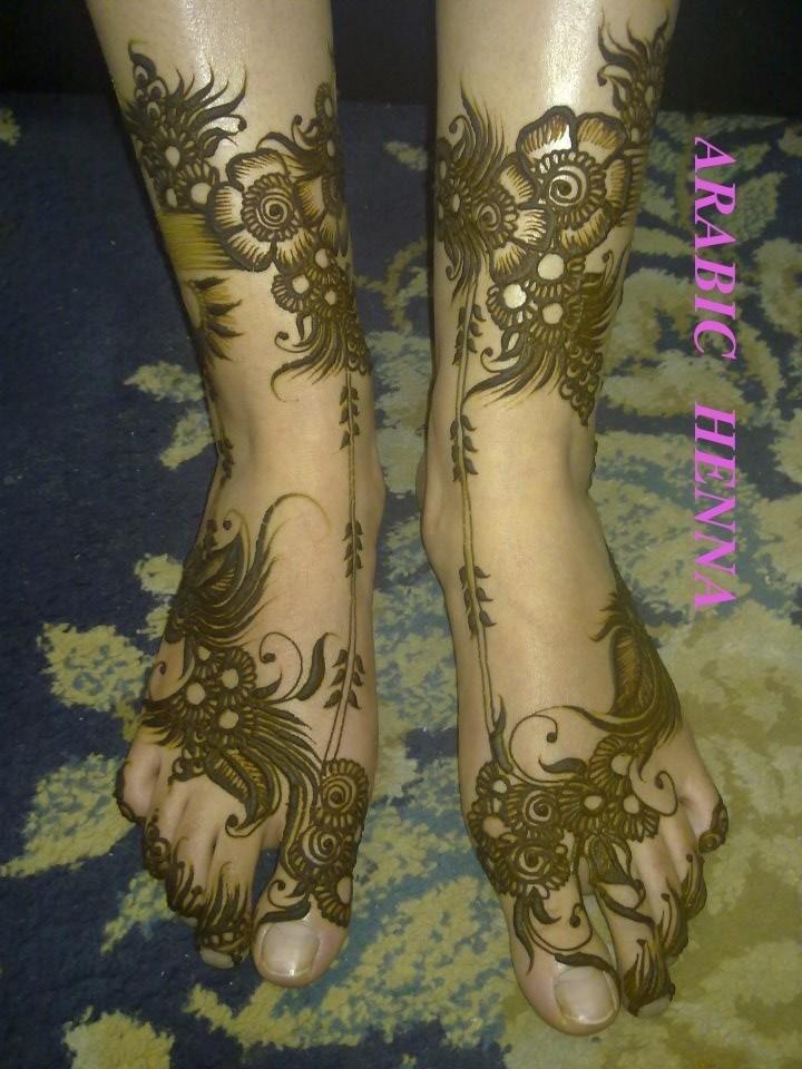 "Khaleeji Henna Designs Tattoo: 103 Best Arabic Henna Design For ""Legs"" Images On"