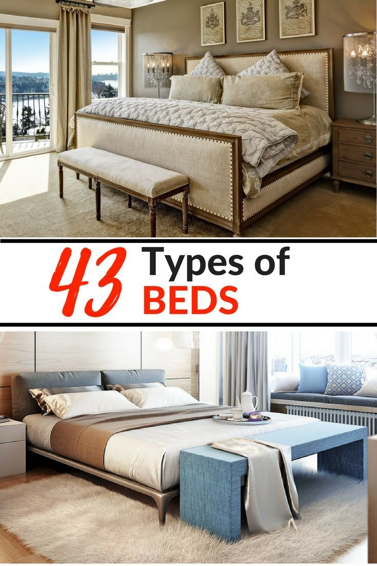 44 Types Of Beds By Styles Sizes Frames And Designs Types Of
