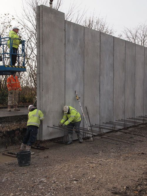 PRECAST CONCRETE 280mm THICK SUPERWALL PANELS                                                                                                                                                                                 More