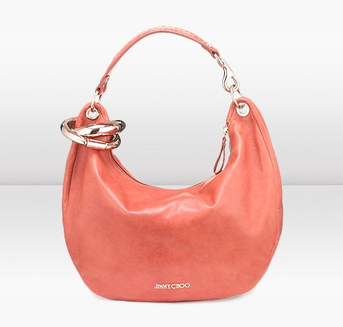 I die! Jimmy Choo purse + coral = perfect for spring.