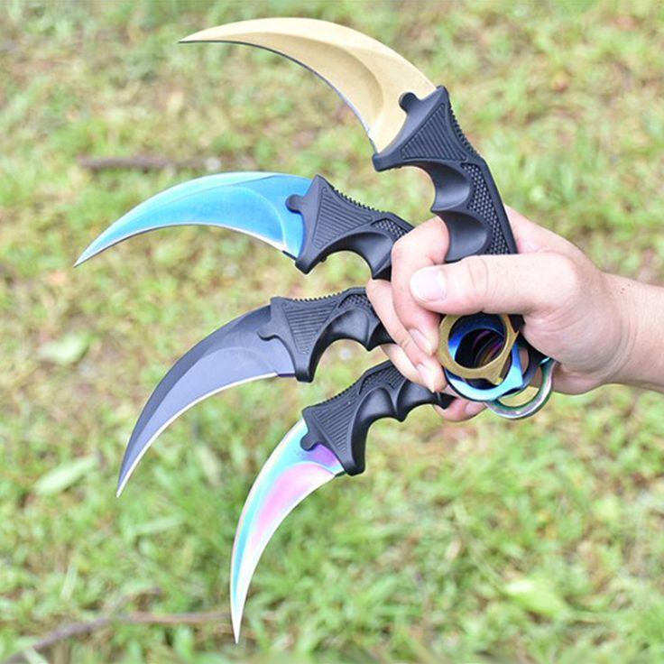 CS GO Karambit Knife Counter Strike Karambit Tactical Knife handmade Fighting Claw hunting knives survival camping tool