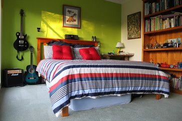 Teenage Boys Bedroom - bedroom - Isobel Clark