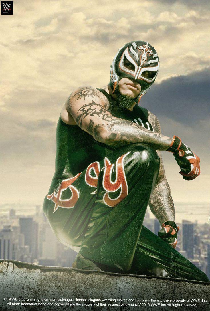 WWE Rey Mysterio 2016 Poster by edaba7