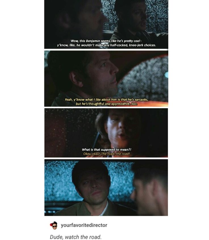 supernatural tumblr textpost destiel season 12