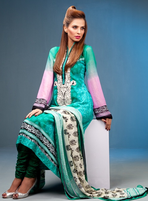 At Aaima Qaiser, you'll find fabric collections from the most desirable Pakistani Fashion Designers of today. Beautiful cotton, lawn and linen suits for all seasons from the leaders of Asian Fashion. Please contact us via email or telephone for availability and placing orders. Payment methods: Paypal...