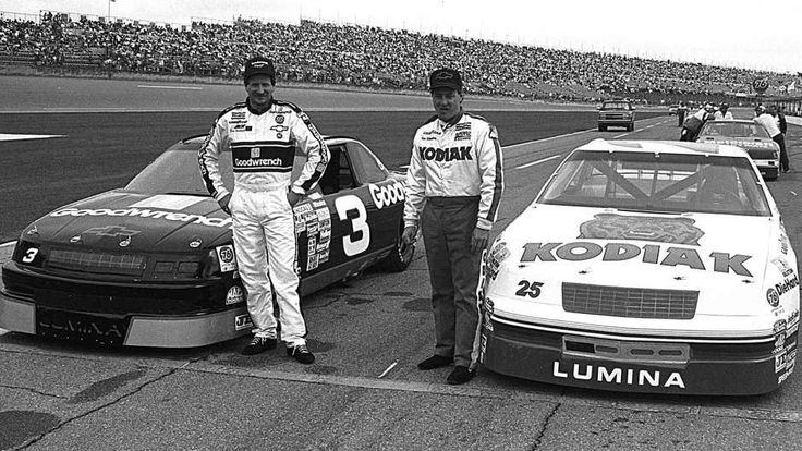 Dale & Ken Schrader pose with their cars prior to the 1990 Daytona 500 & shorty after Kenny won the Busch Clash! Blasts from past: Winners of NASCAR's opening exhibition through the years | FOX Sports