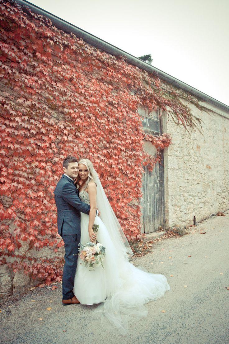 Wine Shed driveway. #GlenEwinEstate #Weddings #bridal #adelaidehills #photos #Pulpshed #wineshed
