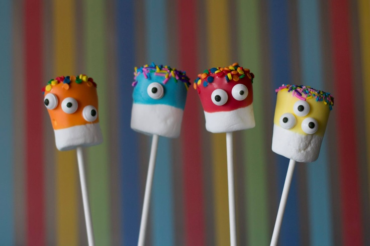 Monster marshmellows