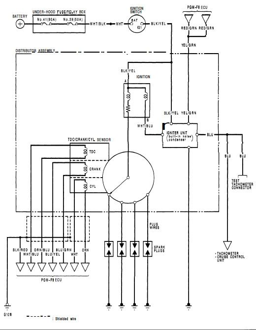 99 Civic Ignition Wiring Diagram In 2020 Diagram Wire Electrical Wiring Diagram