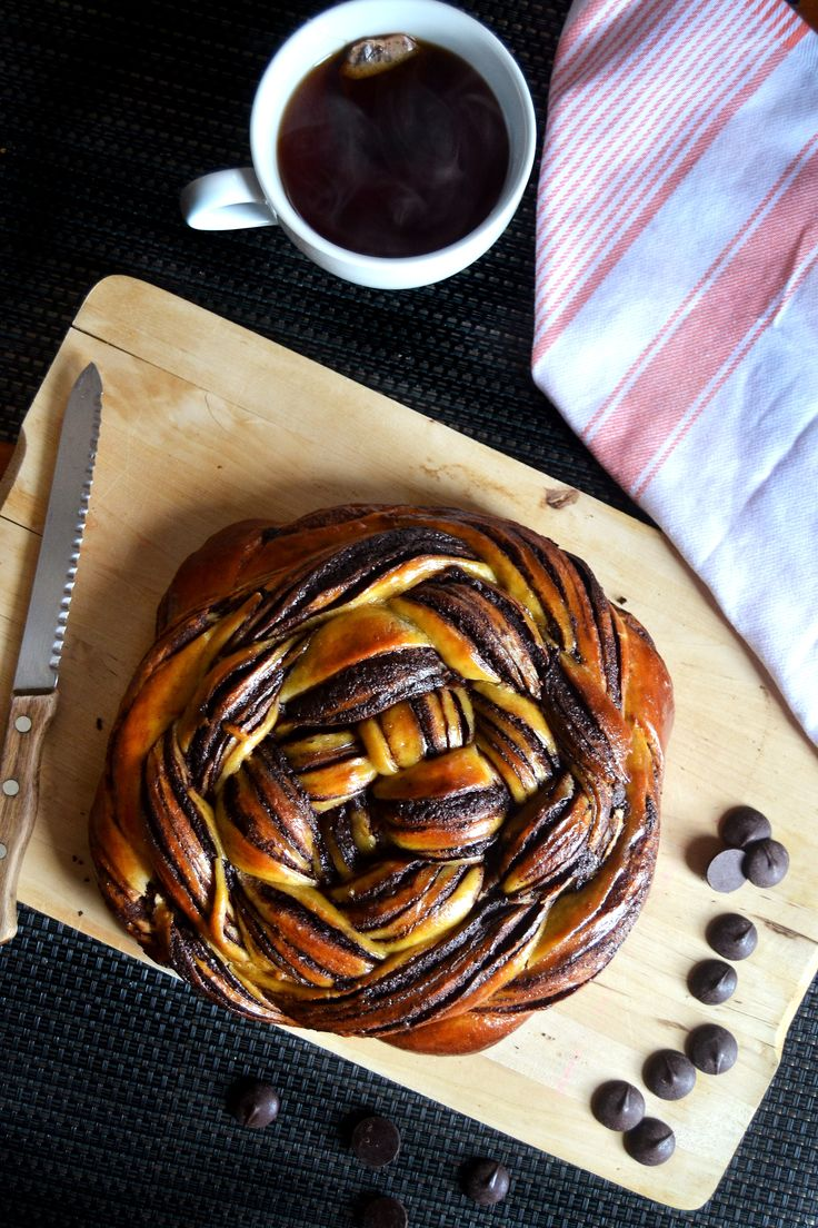 chocolate orange challah