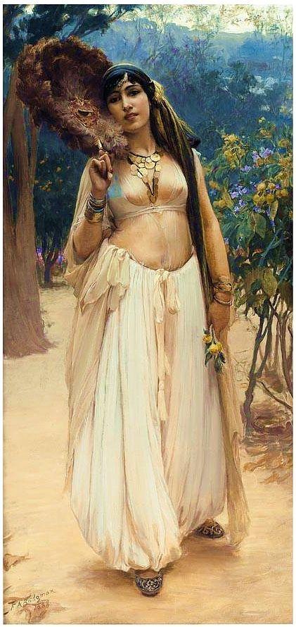 "beautifuldavinci:  Frederick Arthur Bridgman (1847 –1928) was an American artist known for his paintings of ""Orientalist"" subjects. Born in ..."