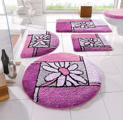 badmatten Paars en roze