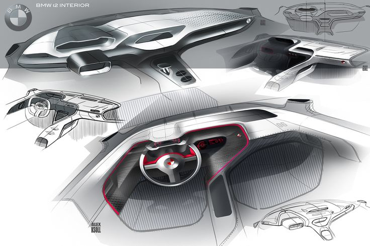 BMW i2 Interior on Behance