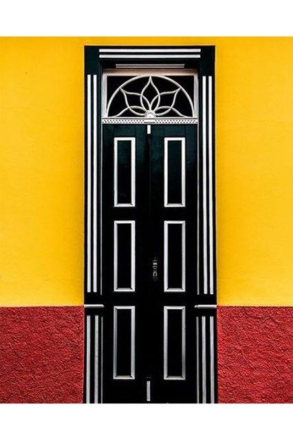 Bold Brazil Door - See the most beautiful doors from all around the world courtesy of Door J'adore pics from their regular Instagram takeovers on the House & Garden account.