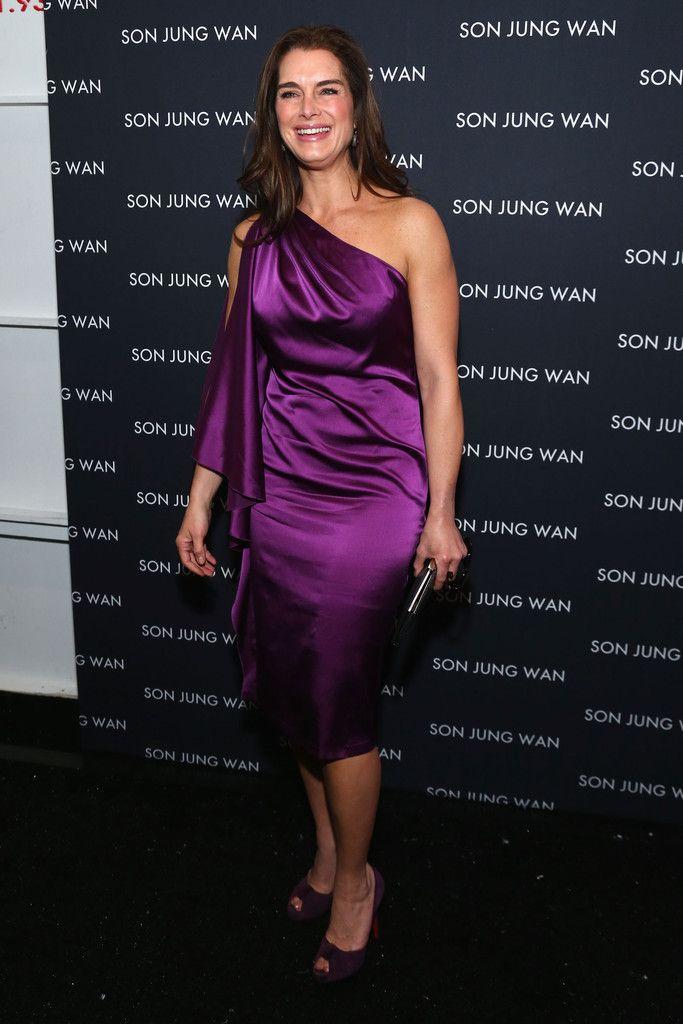 Brooke Shields Photo - Son Jung Wan - Front Row - Fall 2013 Mercedes-Benz Fashion Week