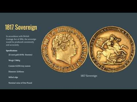 Regency Bicentennial: Reintroduction of the Gold Sovereign in 1817