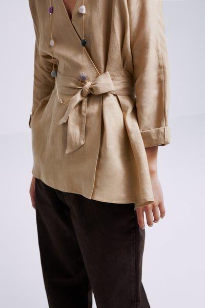 Linen Woman Zara Canada