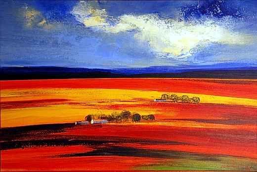 Overberg Landscape Acrylic on canvas  60 x 90cm http://www.afrikanagallery.com.au/artwork/paintings/van_rensburg/img/van_rensburg_01.jpg