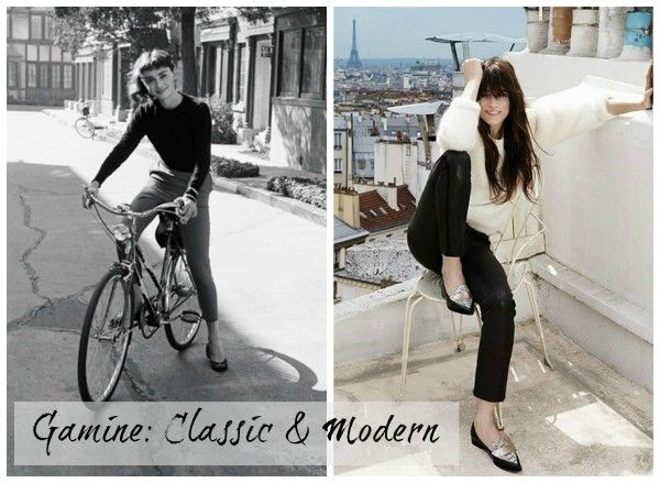 Gamine Style: Classic And Modern | une femme d'un certain âge