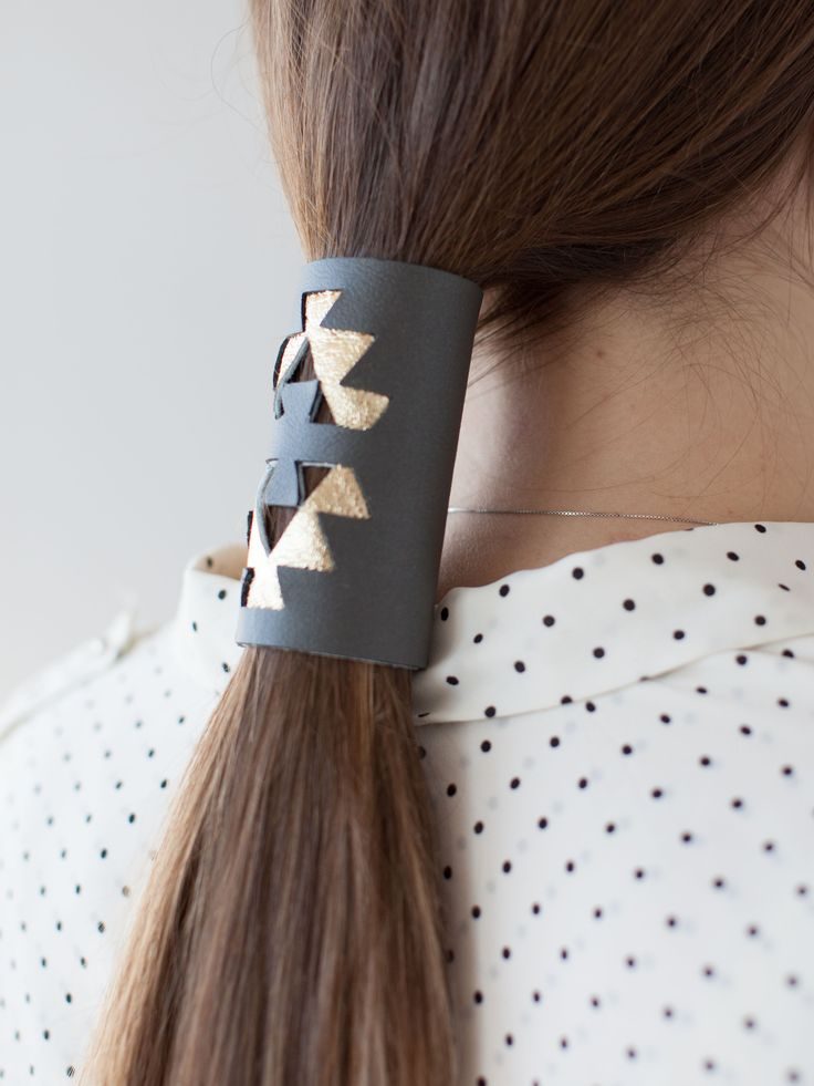 Best DIY Leather Hair Wrap Ideas On Pinterest DIY Leather - Diy ponytail wrap