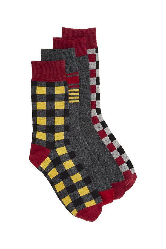 Phillip 4 Pack Sock - Ben Sherman - Underwear & Socks : JackThreads