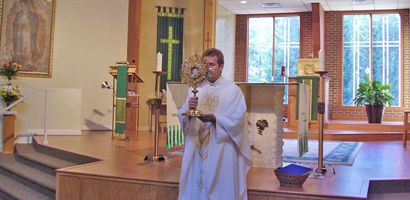 Holy Cross Church in Kernersville held its very first Adoration 10 years ago on the Feast of Corpus Christi.