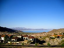 View Of Boulder City NV - place of Danny's birth and our high school graduation.