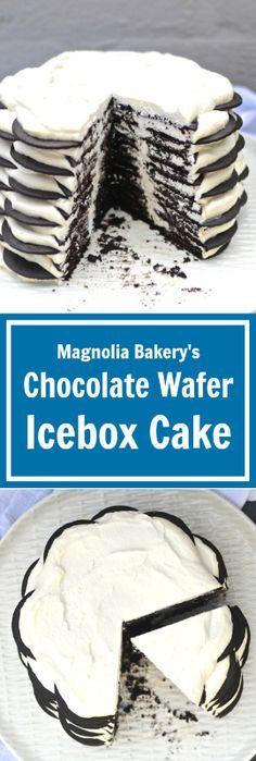 Magnolia Bakery's Chocolate Wafer Icebox Cake | www.theeverykitchen.com