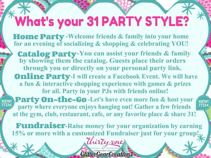 Thirty-One Party Style