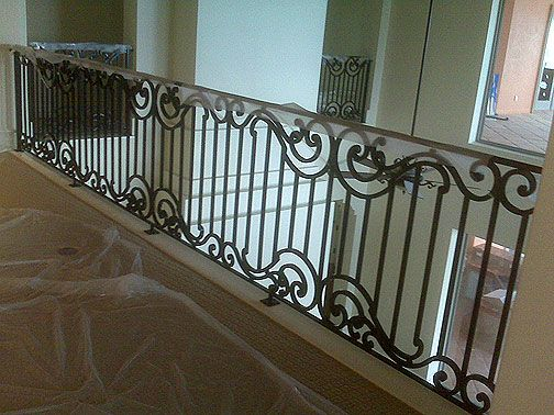 24 best balcony railing steel images on pinterest Decorative railings